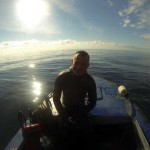 Андрей Мозуляка часто составляет мне компанию. Одно из самых наших с ним неповторимых приключений – 16 км охотничьего сплава по Чернореченскому каньону несколько лет назад. Как мы тогда живы-здоровы остались после 11-ти часов, проведённых в горной речке