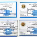 Турецкие лицензии на подводную охоту