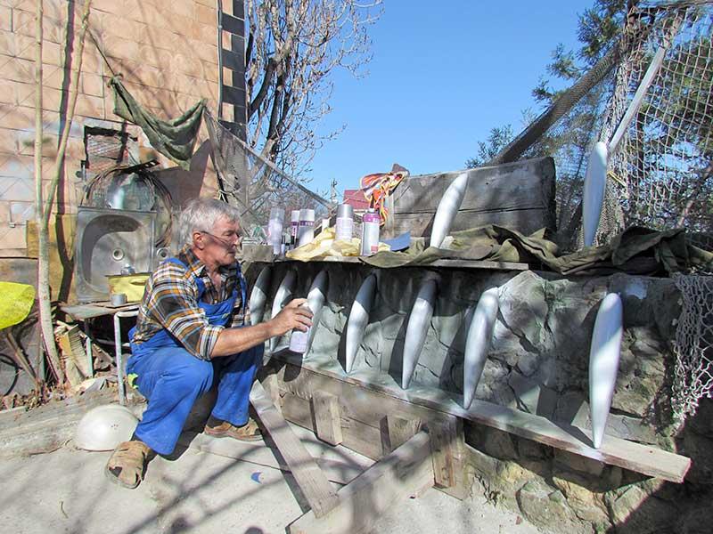 Как обхитрить рыбу: мастер-класс по охоте на кефаль с заманухой от Валерия Приймака VODOLAZ-RADIO