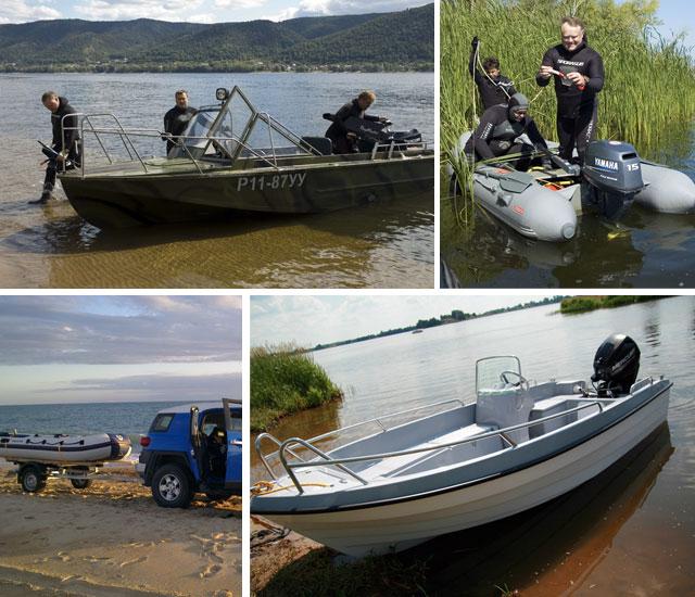 правила охоты на воде с лодки