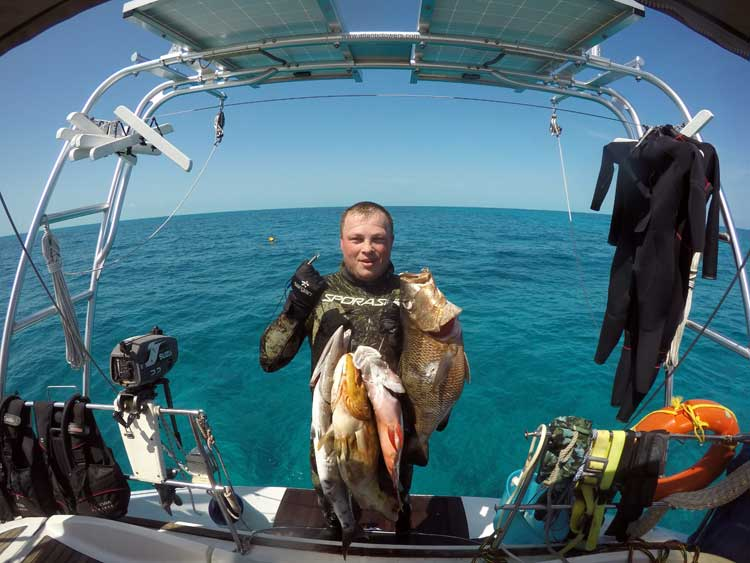 фото отчеты о подводной охоте на кубе этом ним
